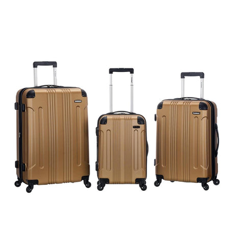 Rockland 3 Piece Sonic Abs Upright Set In Gold