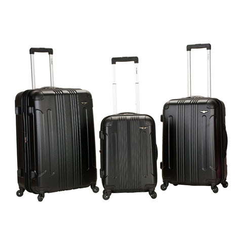 Rockland Black 3 Piece Sonic Abs Upright Set
