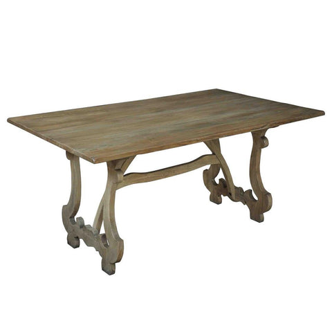 Sarreid Calambac Dining Table Driftwood Finish