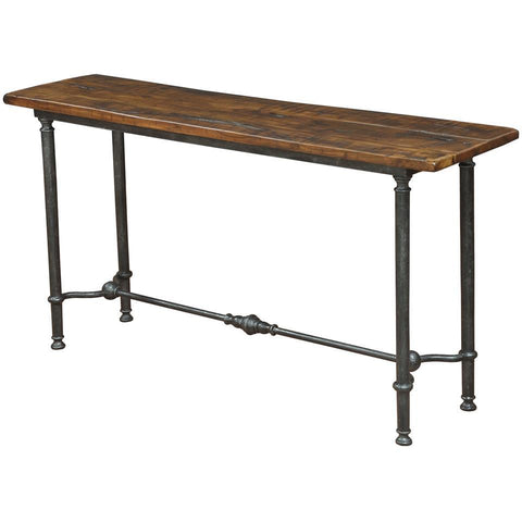Sarreid Lodge Console Table Natural Finish