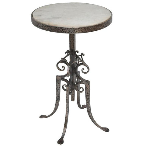 Sarreid Marble Top Wine Table