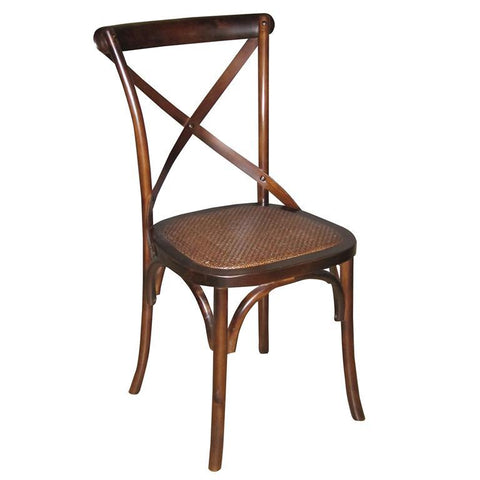 Sarreid Tuileries Side Chair Walnut Finish