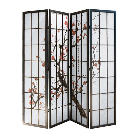 Screen Gems Shoji 4 Panel Screen SG-5428-4