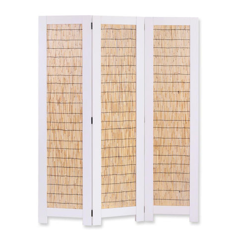 Screen Gems White Wicker Screen SG-324