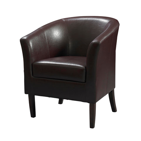 Simon Club Chair Blackberry