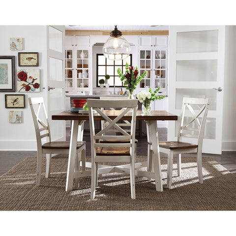 Standard Furniture Amelia 5 Piece Leg Dining Room Set