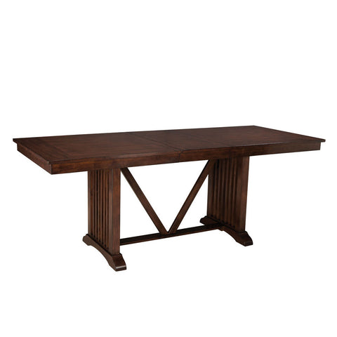 Standard Furniture Artisan Loft Counter Height Table in Aged Bronze