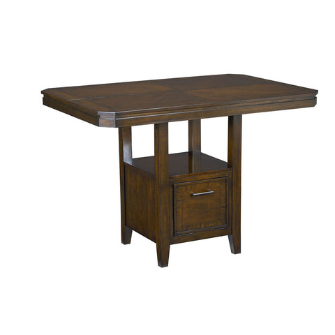 Standard Furniture Avion Counter Height Table in Cherry