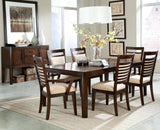 Standard Furniture Avion Extension Dining Table in Cherry