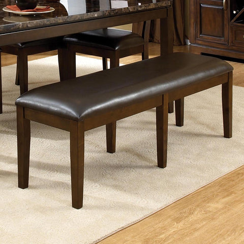 Standard Furniture Bella Bench in Walnut