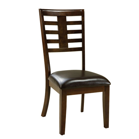 Standard Furniture Bella Side Chair in Walnut