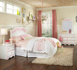 Standard Furniture Bubblegum Panel Headboard in White & Pink