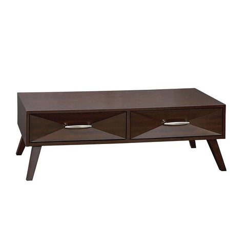 Standard Furniture Forsythe Cocktail Table in Dark Merlot