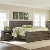 Standard Furniture Hayward Mansion Bed in Dark Brown Weathered