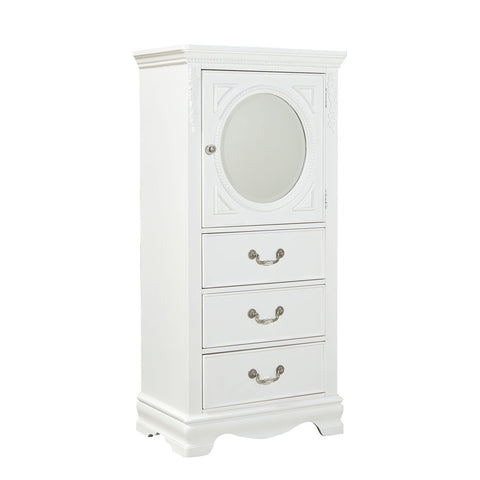 Standard Furniture Jessica 3 Drawer Kids' Lingerie Chest in White