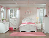 Standard Furniture Jessica Kids' Panel Bed in White