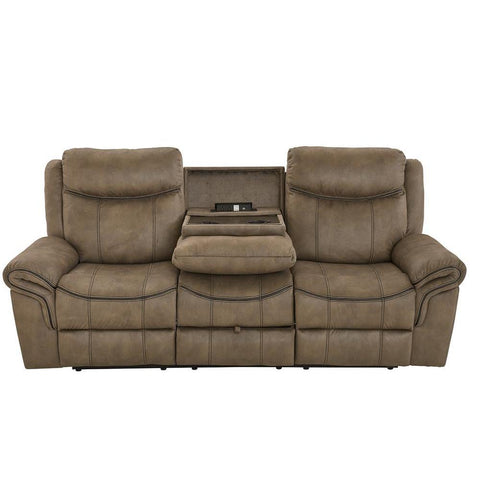Standard Furniture Knoxville Brown USB Charging Sofa