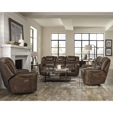 Standard Furniture Kobe 3 Piece Brown Power Motion Living Room Set