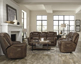 Standard Furniture Kobe Brown Power Motion Sofa