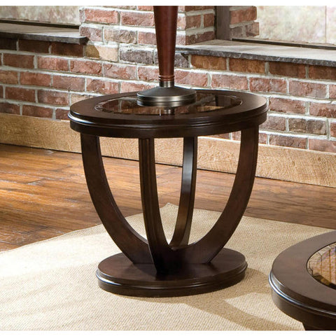 Standard Furniture La Jolla 26 Inch End Table in Cherry