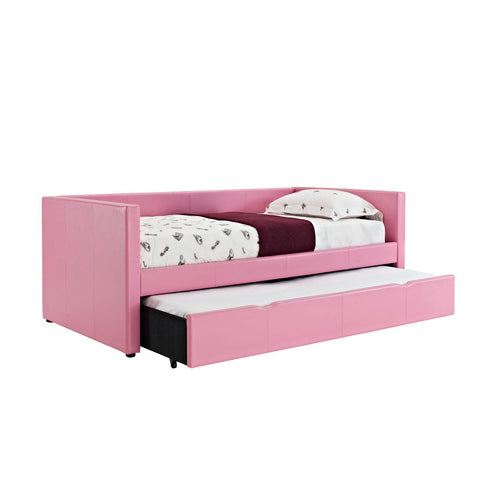 Standard Furniture Lindsey Twin Daybed in Pink