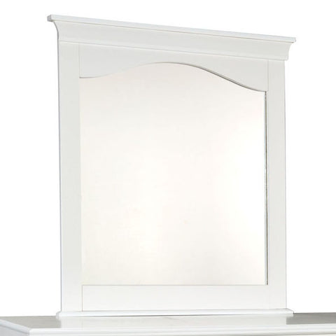 Standard Furniture My Room Arched Mirror in White