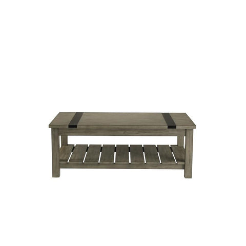 Standard Furniture Nelson Rustic Brown Coffee Table