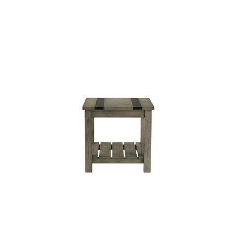 Standard Furniture Nelson Rustic Brown End Table