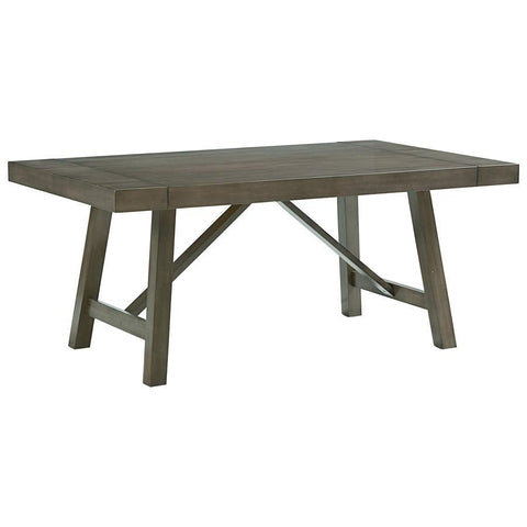 Standard Furniture Omaha Grey Trestle Table