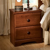 Standard Furniture Orchard Park 19 Inch Nightstand in Cherry