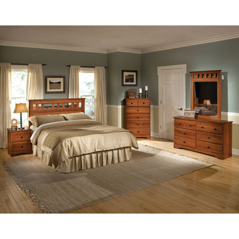 Standard Furniture Orchard Park 5 Piece Panel Headboard Bedroom Set