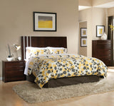 Standard Furniture Strata Panel Headboard in Warm Brown