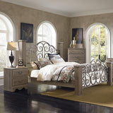 Standard Furniture Timber Creek 2 Drawer Nightstand in Taupe