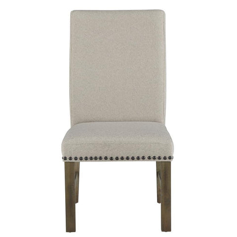 Standard Furniture Trenton Beige Upholstered Side Chair