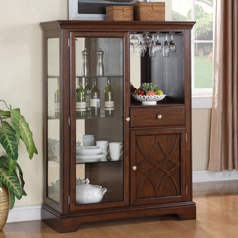 Standard Furniture Woodmont Display Server in Cherry