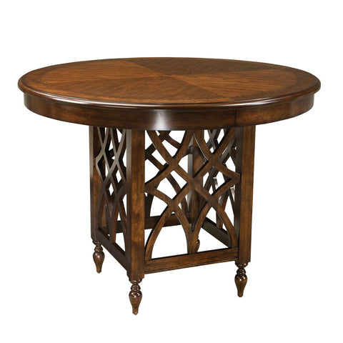 Standard Furniture Woodmont Round Counter Height Table in Cherry
