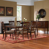 Standard Furniture Woodmont Side Chair in Cherry