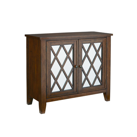 Standard Vintage Accent Console In Brown