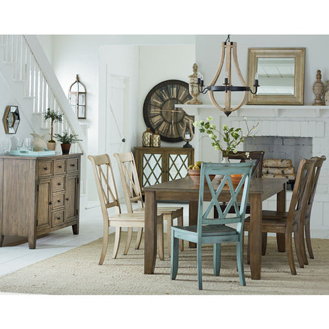 Standard Vintage Eight Piece Dining Set
