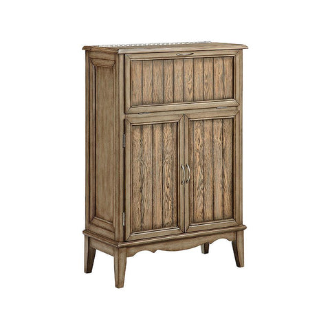 Stein World 3-door wine cabinet