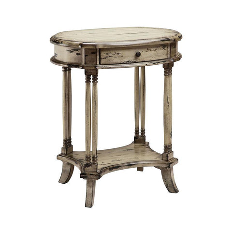 Stein World Brendan Accent Table in Cream & Black