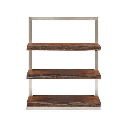 Stein World Climber Short Shelving Unit in Silver