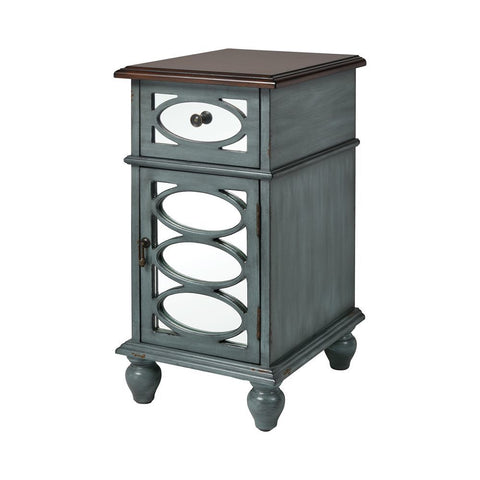 Stein World Conestoga Accent Table - Aged Blue