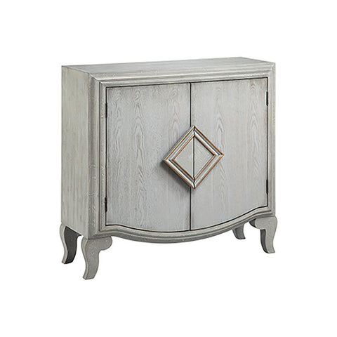 Stein World Dame Cabinet in Hand-Painted & Gray