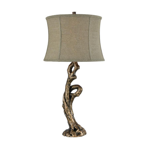 Stein World Ferny Table Lamp in Brown
