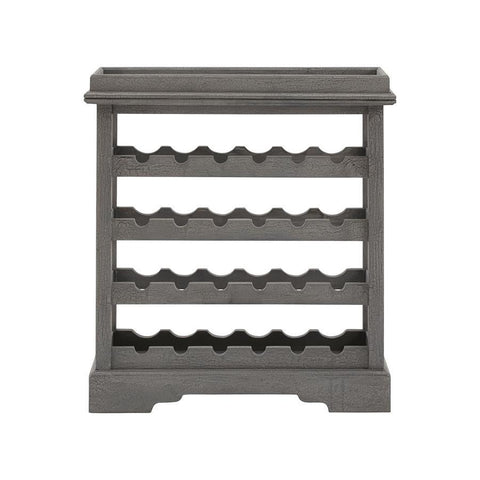 Stein World Hoda Wine Cabinet in Black-Grey