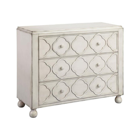 Stein World Juliette Chest in Hand-Painted & Chalk White