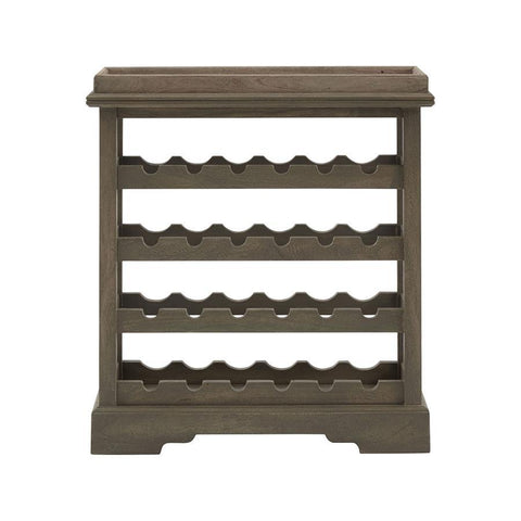 Stein World Kathie Wine Cabinet in Grey
