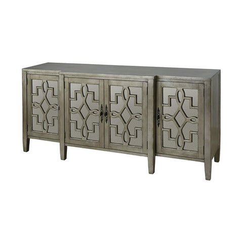 Stein World Lawrence 4-Door Cabinet