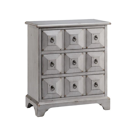 Stein World Mona Chest in Hand-Painted & Mist